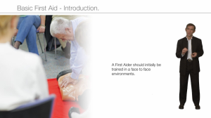 basic first aid - introduction
