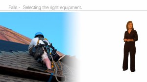 falls prevention - selecting the right equipment